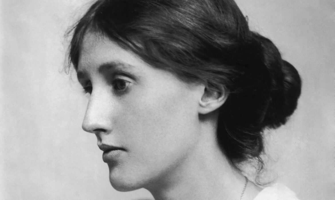 George Charles Beresford Virginia Woolf in 1902 Restoration edited