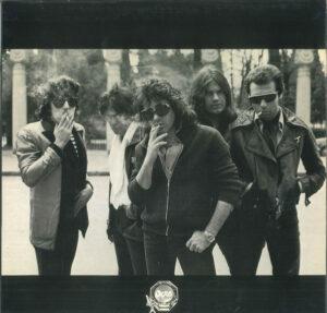 Foto de la iconica portada del primer disco Madrid