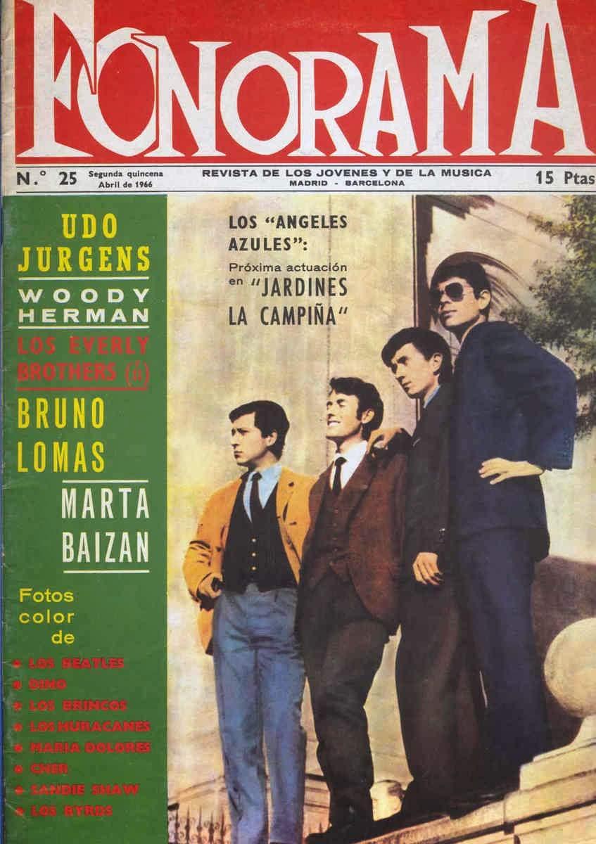 Los Angeles portada de la prestigiosa revista musical Fonorama