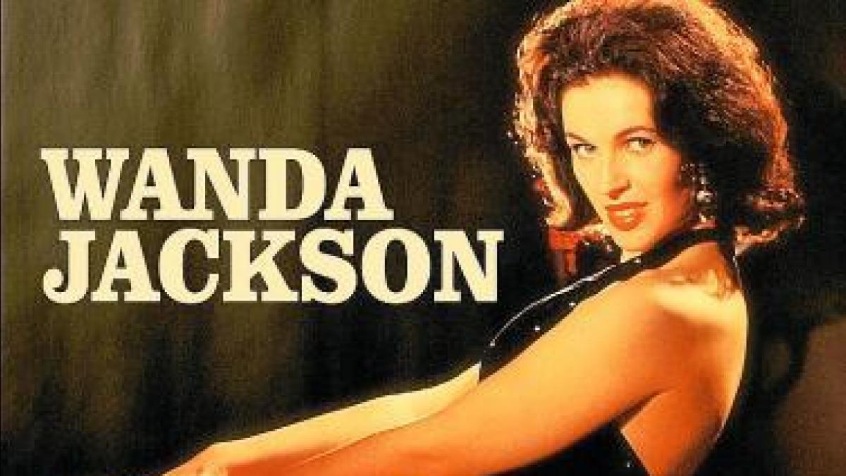 Wanda Jackson en una foto promocional de los anos sesenta