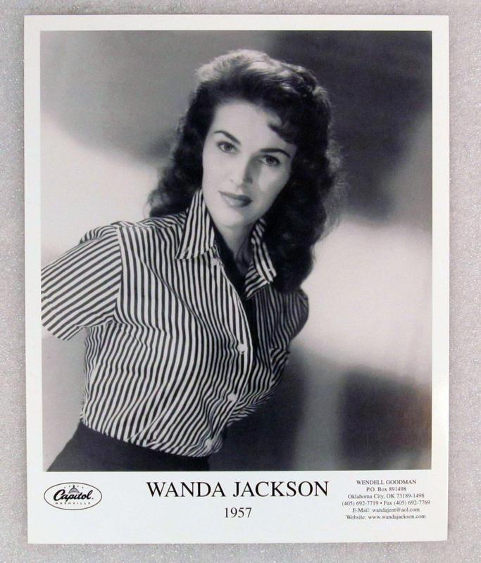 Wanda Jackson foto promocional 1957 1