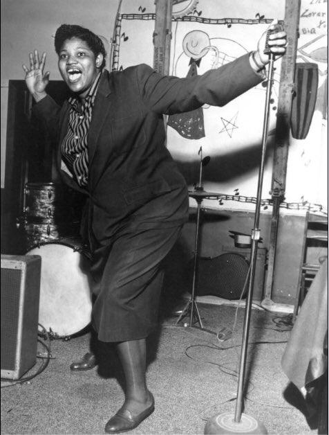 Big Mama Thornton pura fuerza y temperamento
