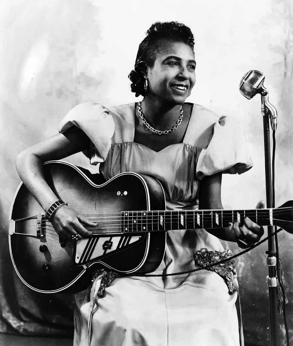 Memphis Minnie talento y actitud