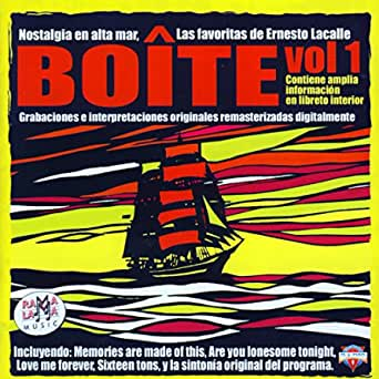 Rock and roll radio. Boite. Nostalgia en alta mar.