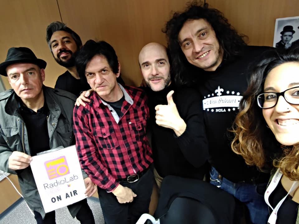 El Amply en RadioLab UGR programa que hicimos Josemi Lanuit y servidor con Javier Cantón y el apoyo de  la universidad de Granada. Rock and roll radio.