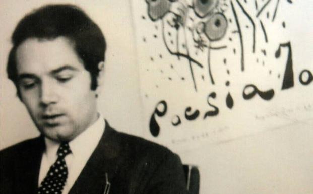 Juan de Loxa en Poesia 70. Rock and roll radio.