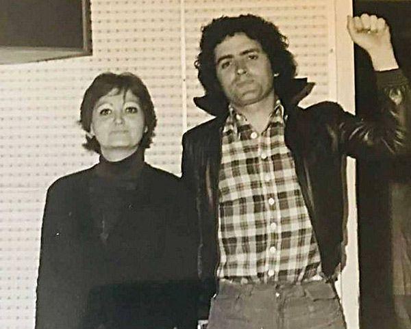 Maria del Mar Hernandez con El Mariskal Romero