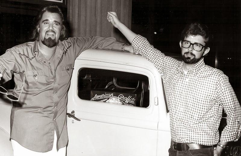 Wolfman Jack y George Lucas. Rock and roll radio. Una historia de ritmos, guitarras y ondas hertzianas. Parte 1. Por Paco Burgos.