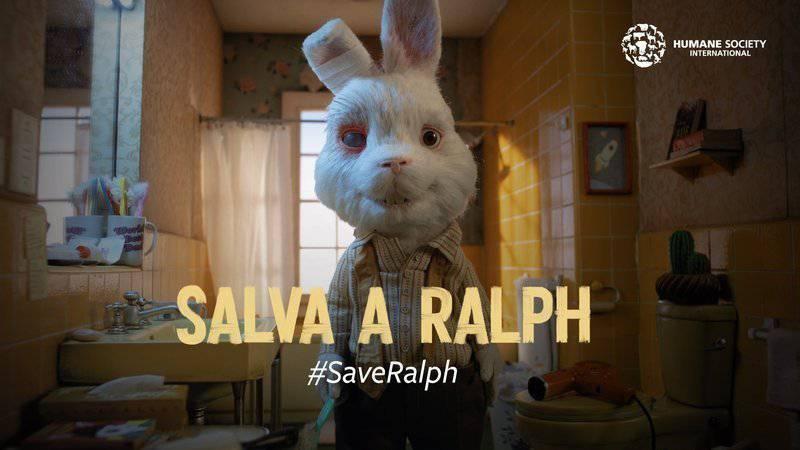 """Machina Animata"". ""Save Ralph"", Humane Society International."