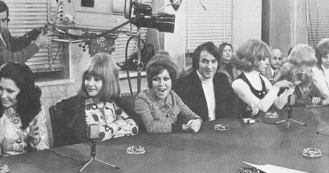El elenco de participantes para ir a Dublin y participar en Eurovisión en 1970, el mismo que ahora más o menos.