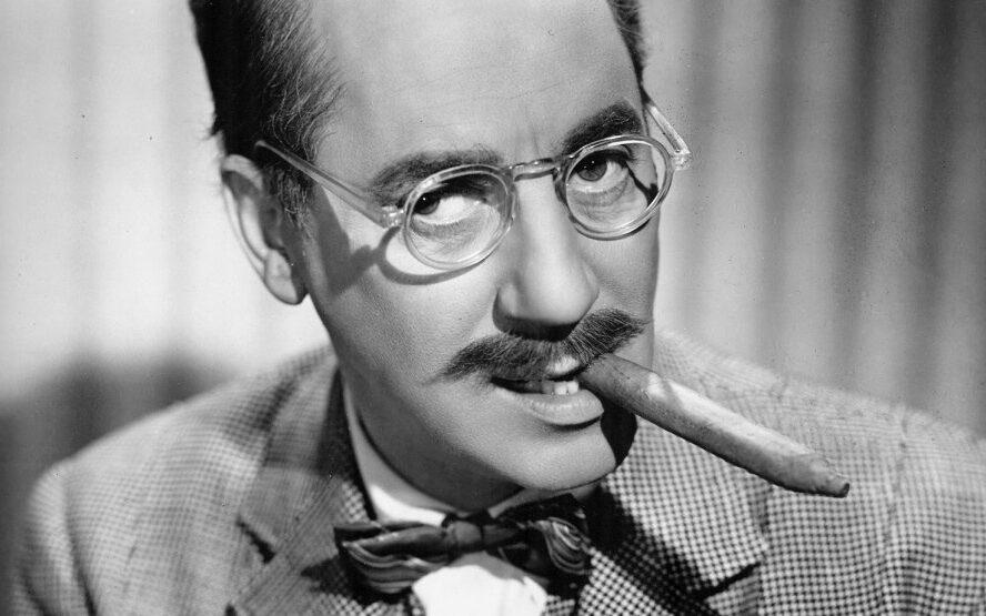 Groucho Marx portrait edited