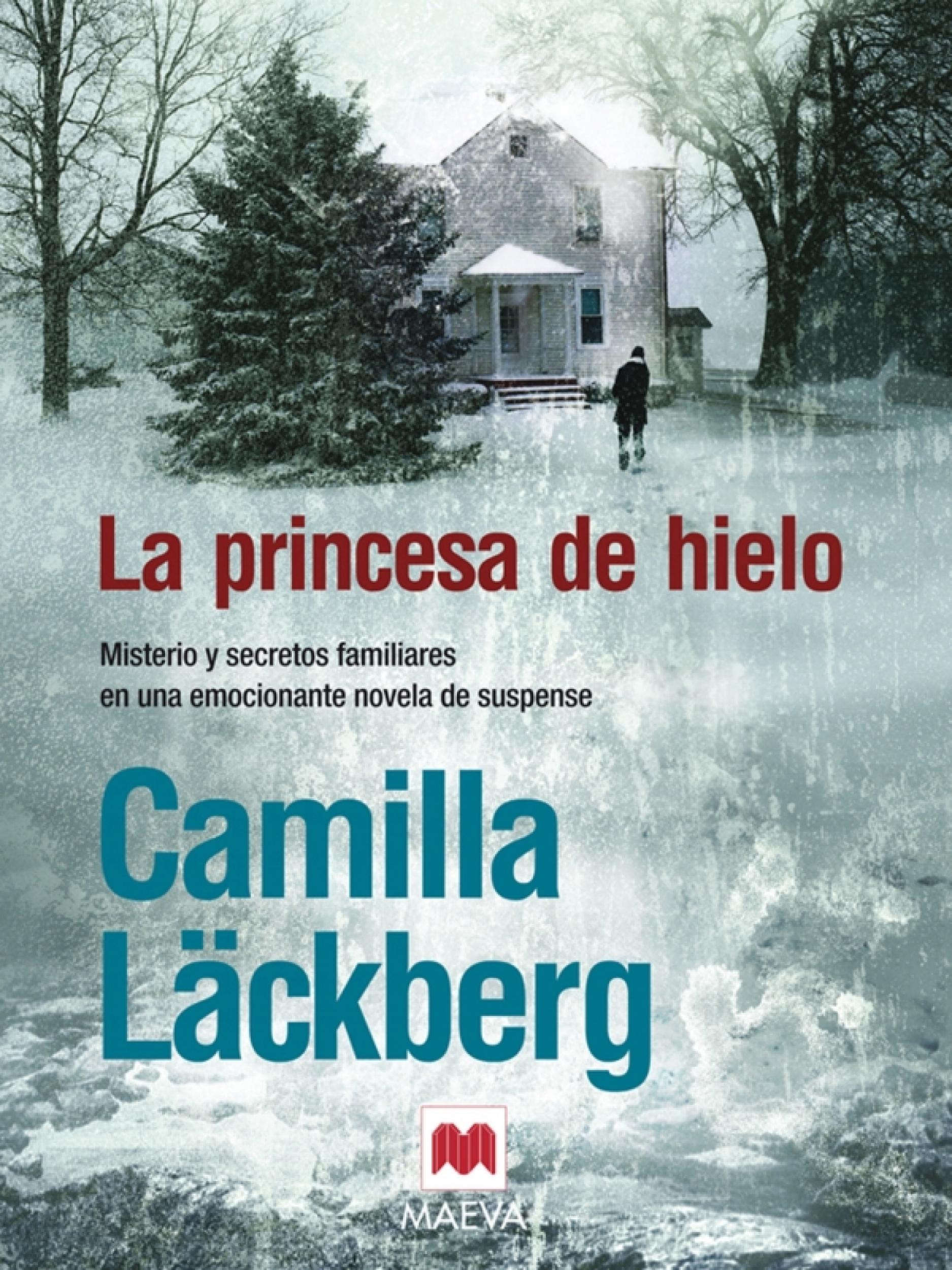 La princesa de hielo. Camila Läckberg. Ed. Maeva. Mujeres en la novela negra: rompiendo estereotipos. Por Lía Guerrero.